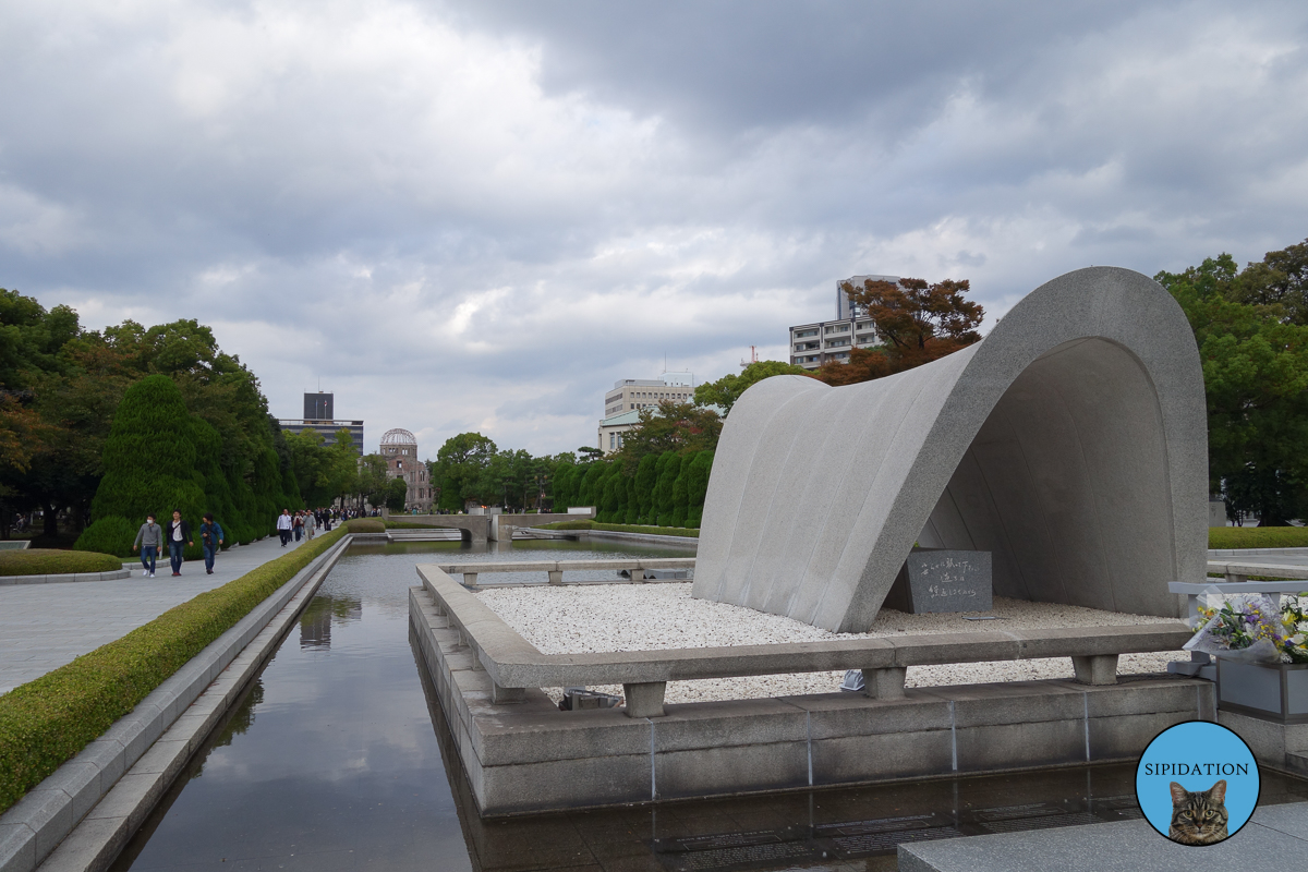 Memorial Monument of the Atomic Bomb Victims - Hiroshima, Japan