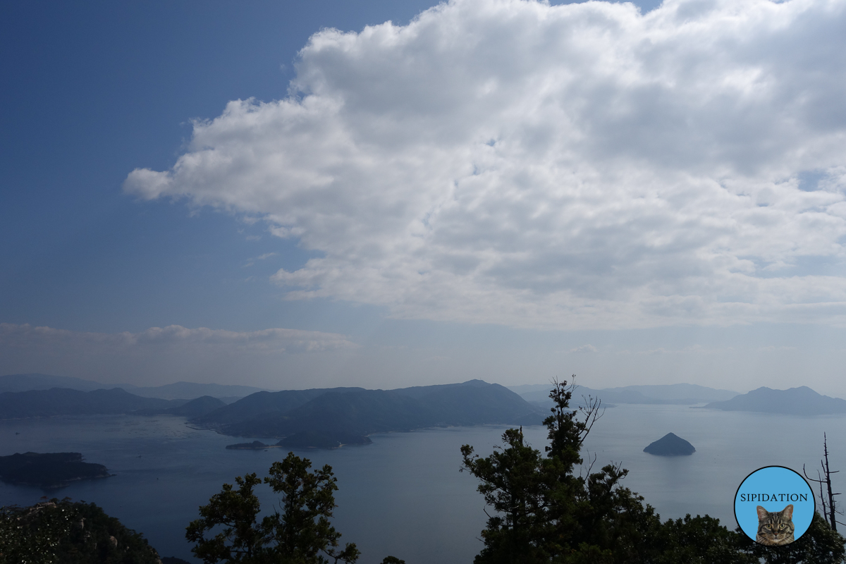 View From The Top of The Mountain - Miyajima, Japan