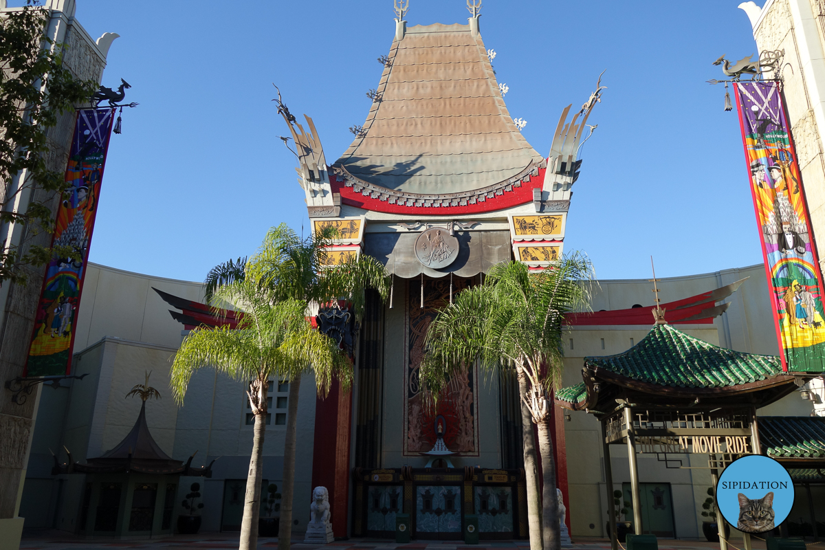 Chinese Theatre - Hollywood Studios - Disney World, Florida