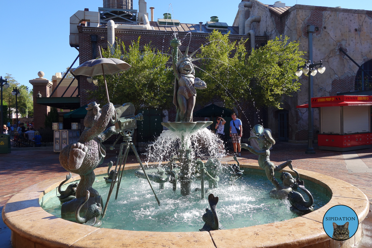 Muppets Fountain - Hollywood Studios - Disney World, Florida