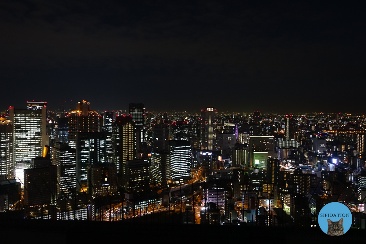 Osaka at Night - Osaka, Japan