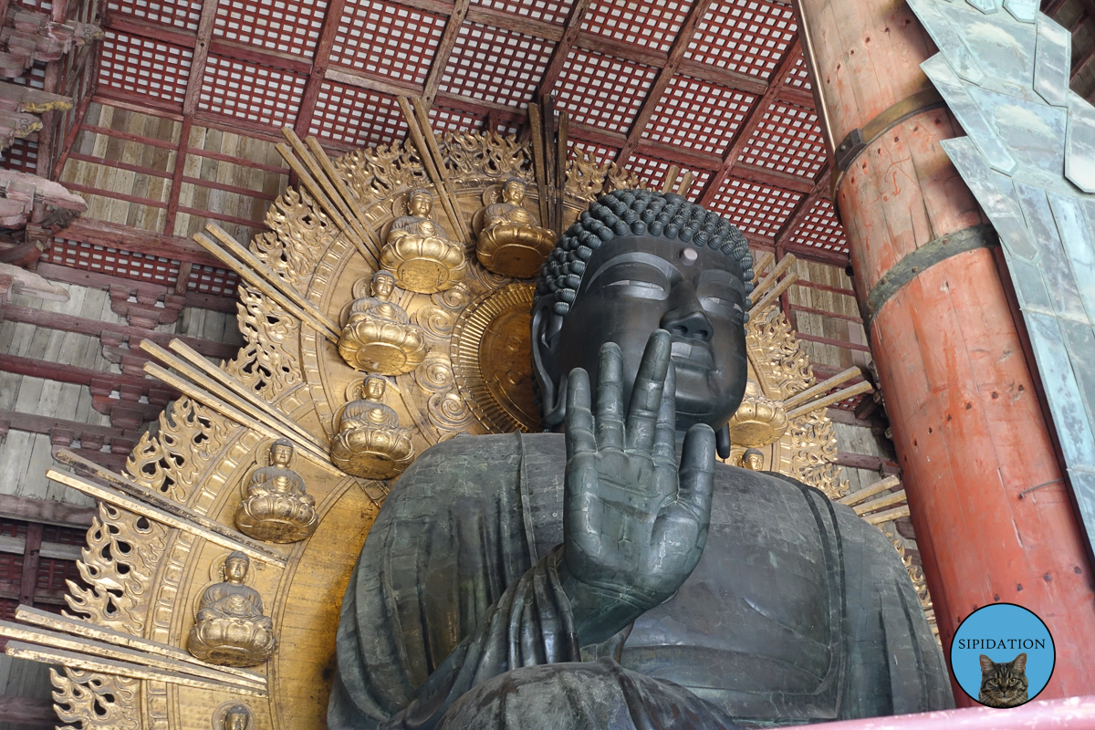 Giant Buddha Statue - Nara, Japan