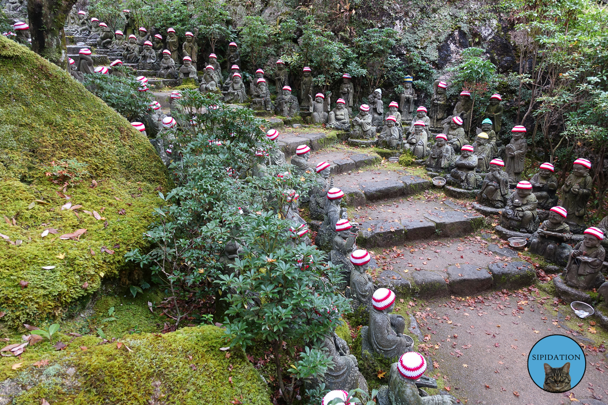 Path of Statues - Miyajima, Japan