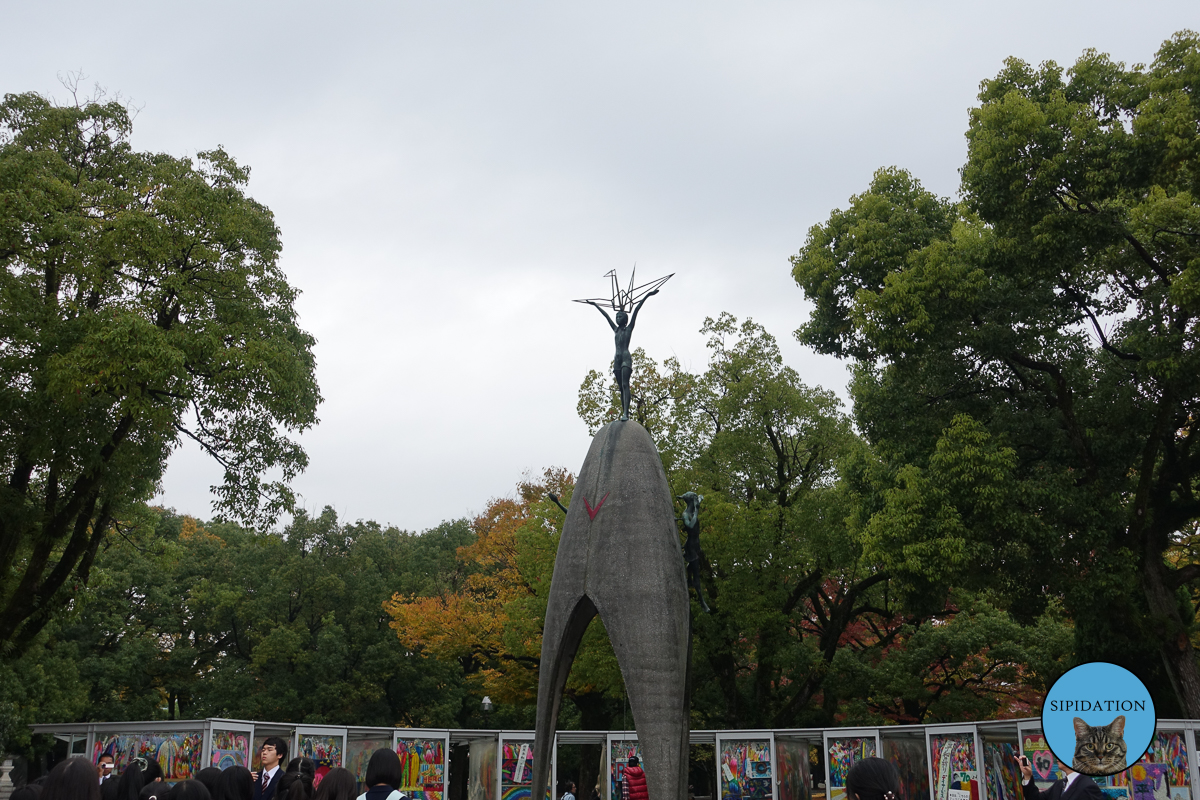 Children's Peace Monument - Hiroshima, Japan