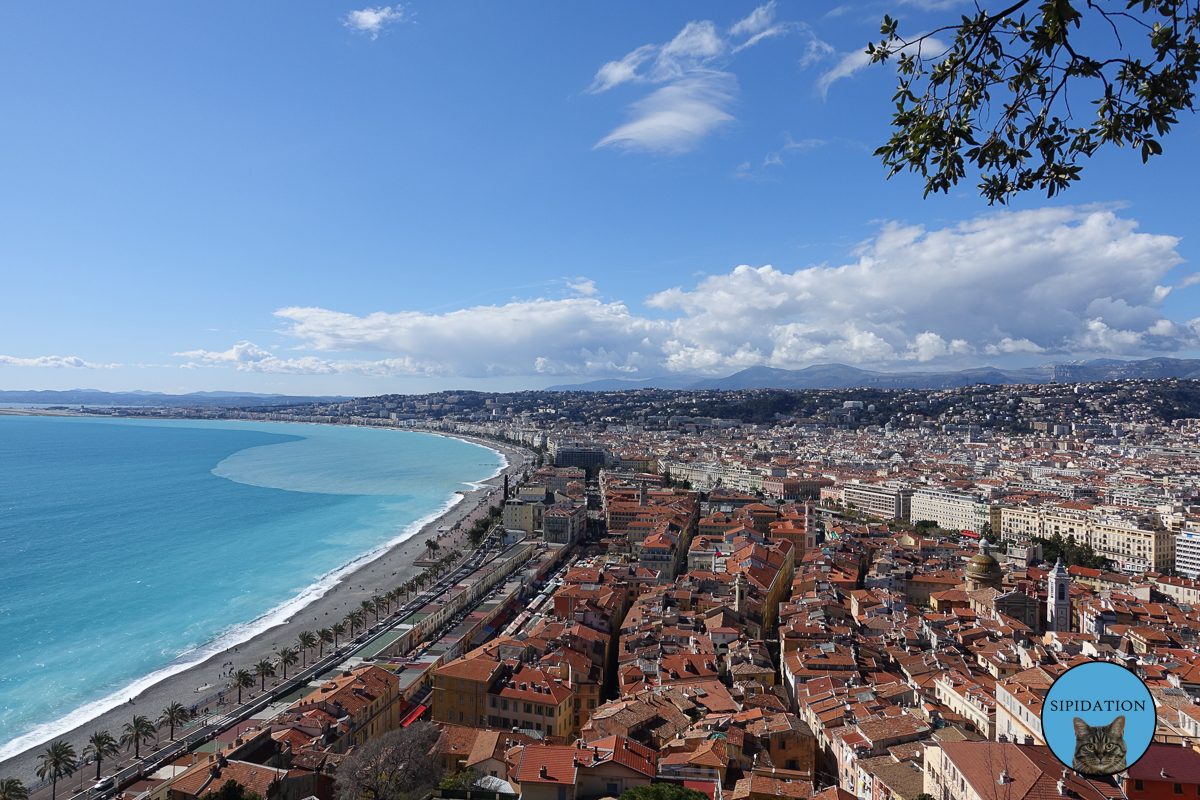 View From Castle Hill - Nice, France